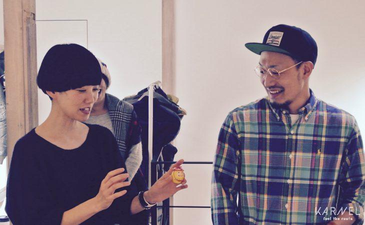 (左)長浦ちえさん(右)瀬川信太郎さん